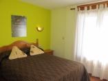 habitación matrimonio 135cm con terraza, baño con ducha